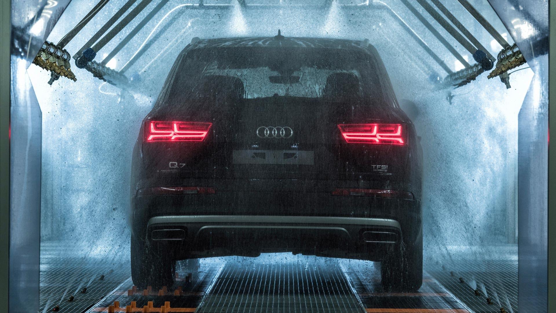 vask og polering av bil