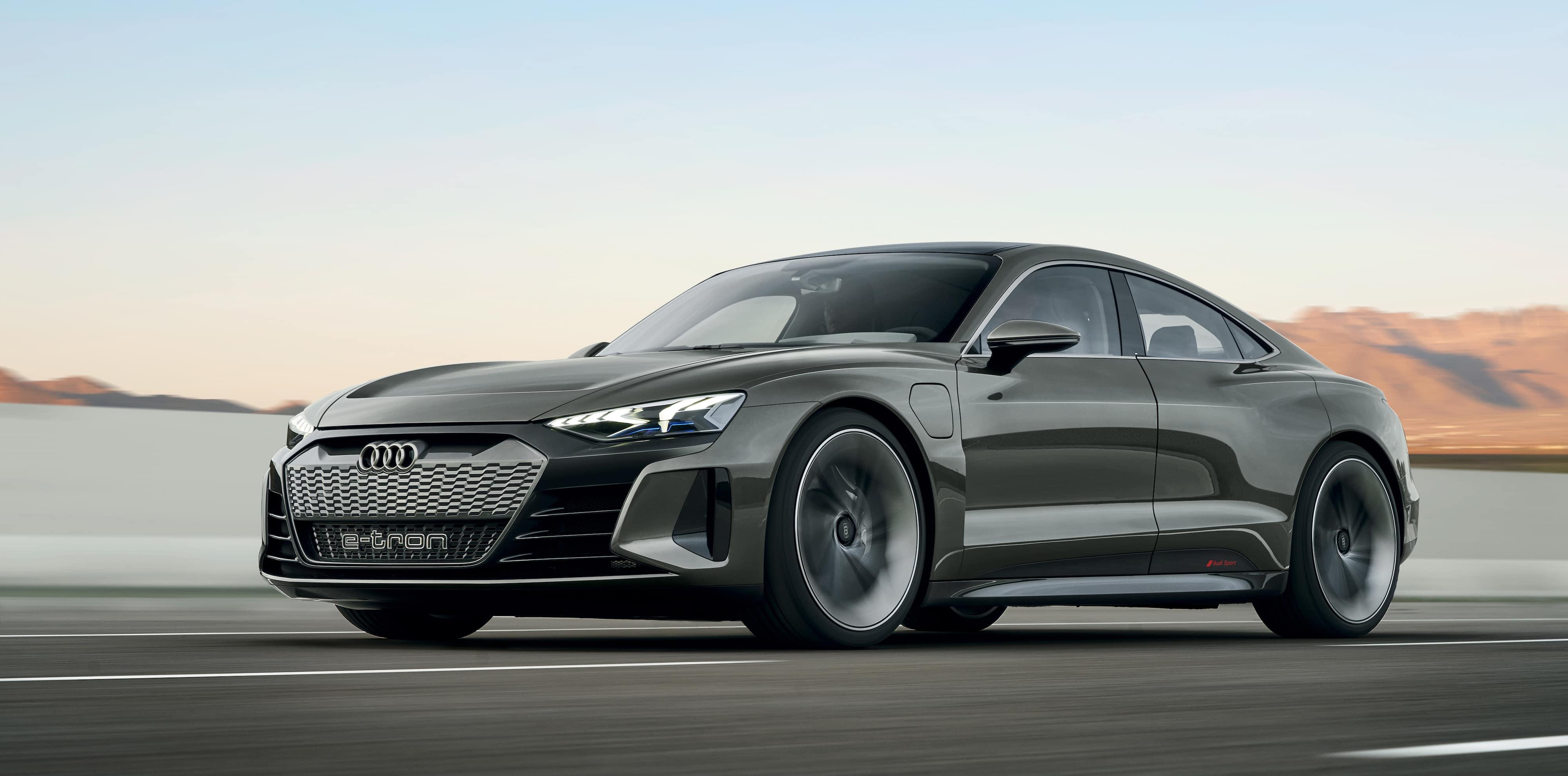 Her Er Audi E Tron Gt Concept Audi Norge